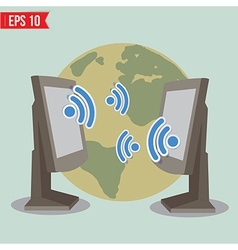 Wireless communication - - EPS10 vector image