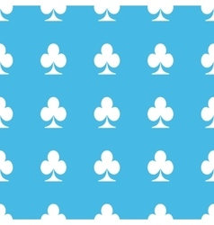 Clubs straight pattern vector