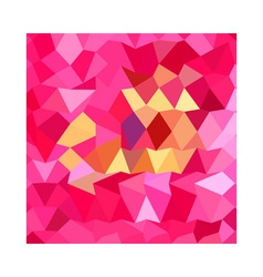 Brink pink abstract low polygon background vector