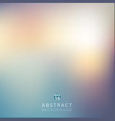 abstract blurred background retro style for vector image