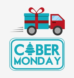 Ciber monday deals design vector