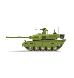 military tank heavy equipment armored corps a vector image vector image