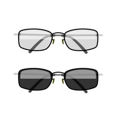 Sun-protection glasses vector