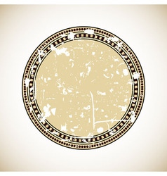 vintage blank label vector image vector image