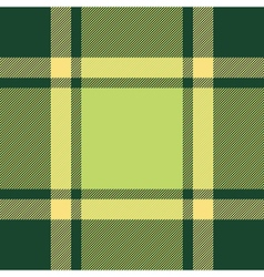 Green ireland plaid seamless pattern vector