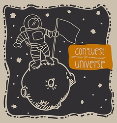 Conquest the universe vector