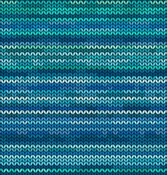 Melange knitted seamless pattern vector