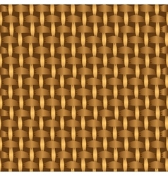 Abstract decorative wooden striped textured basket vector image