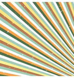 Abstract retro lines vector image vector image