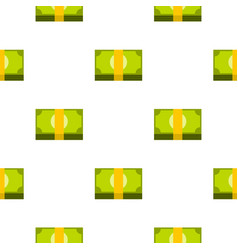 Bundle of money pattern seamless vector