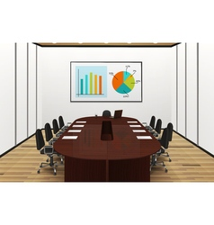 Conference Room Light Interior vector image