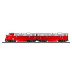 Diesel locomotive vector