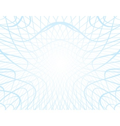 White background with distorted blue grid vector