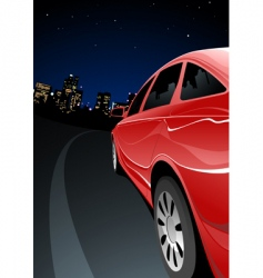 fast car vector image