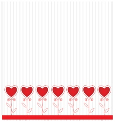 Abstract background Valentine day vector image