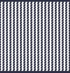 Navy rope pattern vector