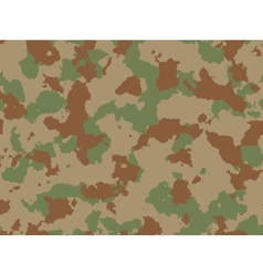Seamless woodland camo pattern vector