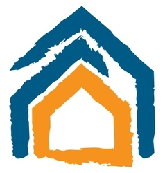 Icon of a house vector