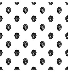 Goalkeeper mask pattern vector