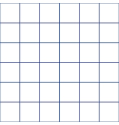 Navy blue grid white background vector