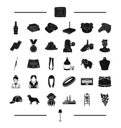 Service clothing appearance and other web icon vector
