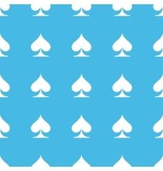Spades straight pattern vector