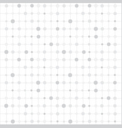 White background with circles and strips vector