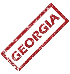 New georgia rubber stamp vector
