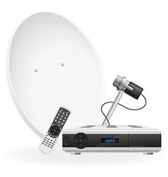 Digital satellite receiver 03 vector