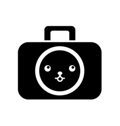 Kawaii graphic design camera studio cartoon vector