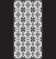 rectangular lattice pattern background in oriental vector image