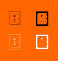 Safe icon vector