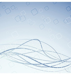 Swoosh blue lines background vector