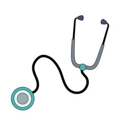Stethoscope medicine icon image vector