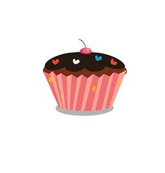 cupcake 1 vector image