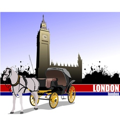 6229 london trip vector image vector image
