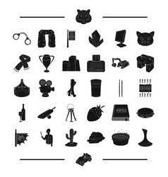 Animal desert service and other web icon in vector