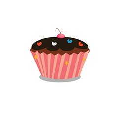 cupcake 1 vector image