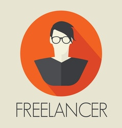 freelance1 resize vector image vector image
