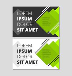 Modern leaflet design vector