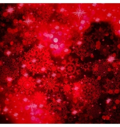 Red Christmas background in elegant style EPS 10 vector image