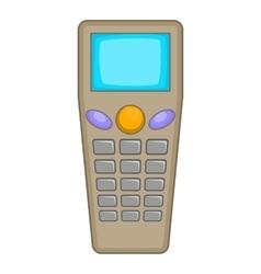 Remote control tool icon cartoon style vector