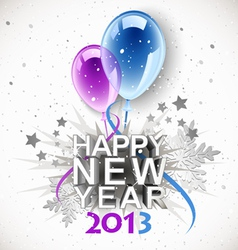 Vintage new year 2013 vector