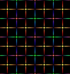 Neon diamonds Pattern or background of vector image