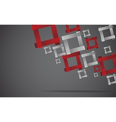 Abstract square background Clip-art vector image vector image