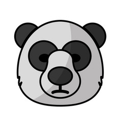 bear icon image vector image