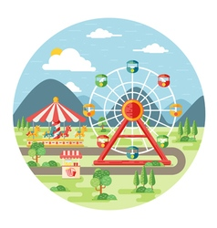 Carnival vector image