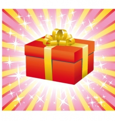 gift box illustration vector image