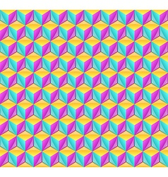 3d cube pattern vector
