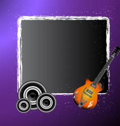 abstract musical illustration vector image